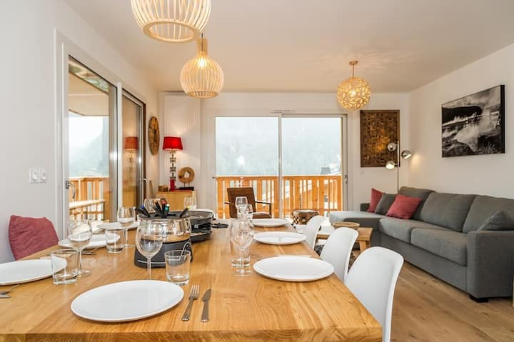 amazing apartment with a large terace