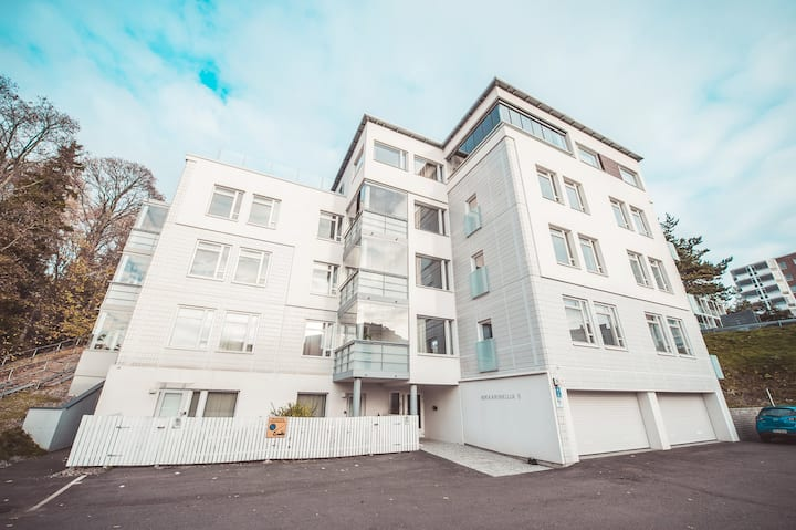New, stylish one-bedroom apartment with excellent location in Leppävaara, Espoo