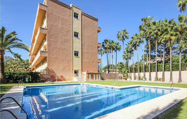 Awesome home in Las Chapas with WiFi and 1 Bedrooms