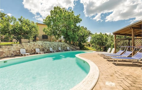 Stunning home in Giano dell'Umbria PG with 2 Bedrooms