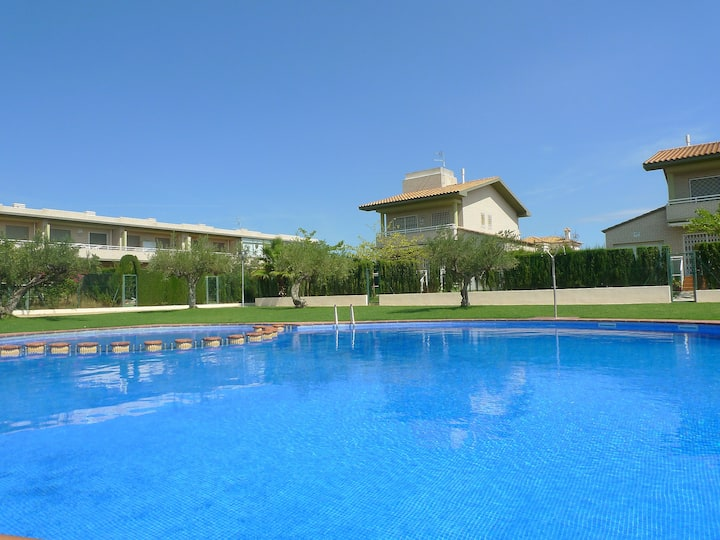 Townhouse Mestral in L'Ampolla