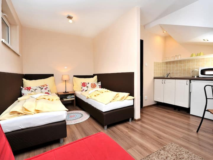 Studio Tatry for 2 persons.