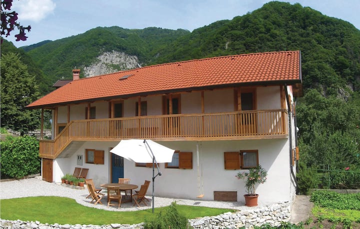 Awesome home in Tolmin with WiFi and 3 Bedrooms