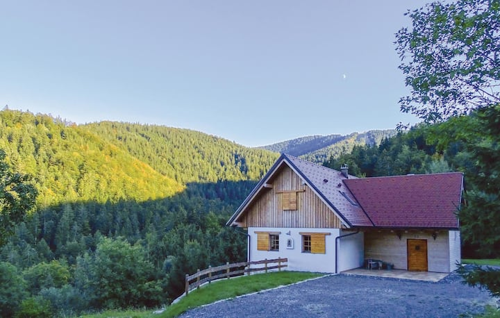 Awesome home in Vuzenica with Sauna, WiFi and 6 Bedrooms
