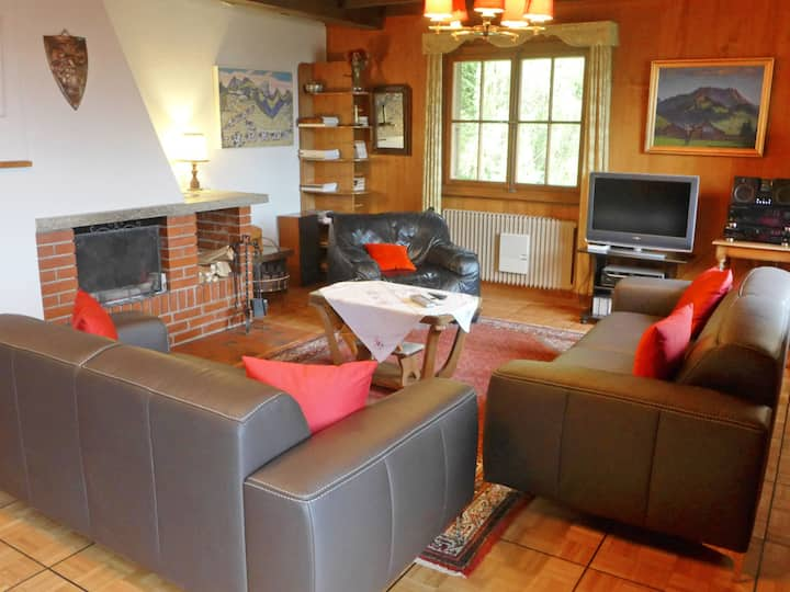 Chalet Clairval for 10 persons.