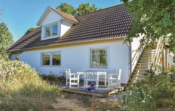 Awesome home in LISTERBY with WiFi and 1 Bedrooms