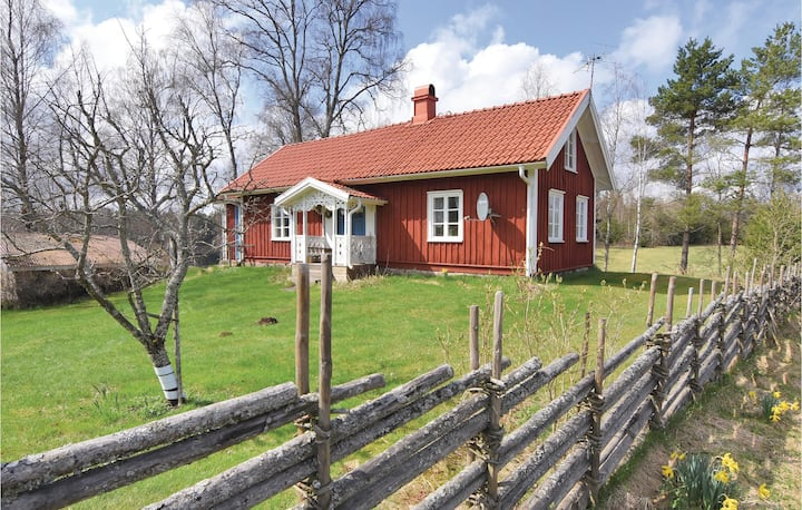 Stunning home in Ambjörnarp with WiFi and 1 Bedrooms