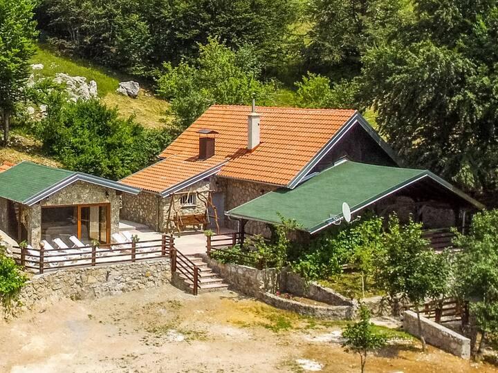 Villa Velebita for 13 persons.