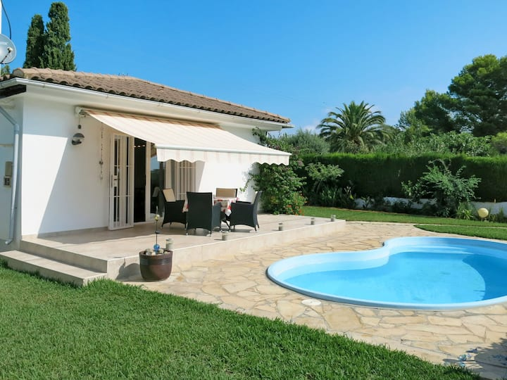 Modern holiday home Ingeborg, 600m to the sandy beach Cap San Pere