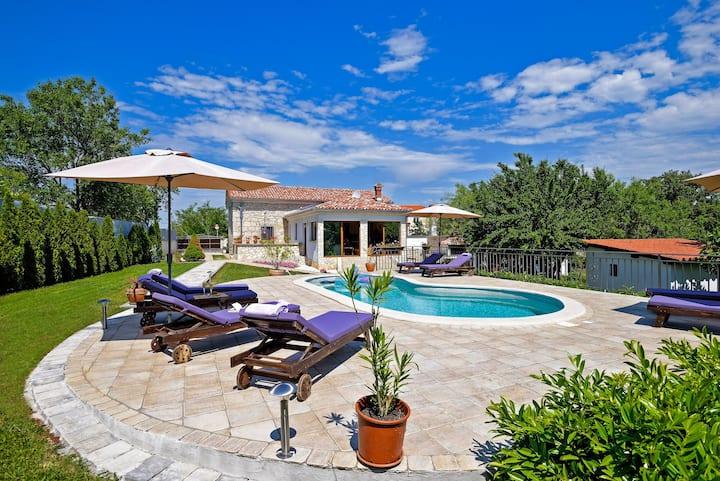 Villa Celeste in Nedešćina (Haus für 8-10 Personen)
