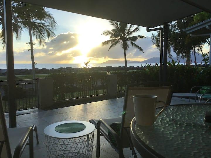 Oceanfront Beach House with stunning views - wake up to amazing sunrises
