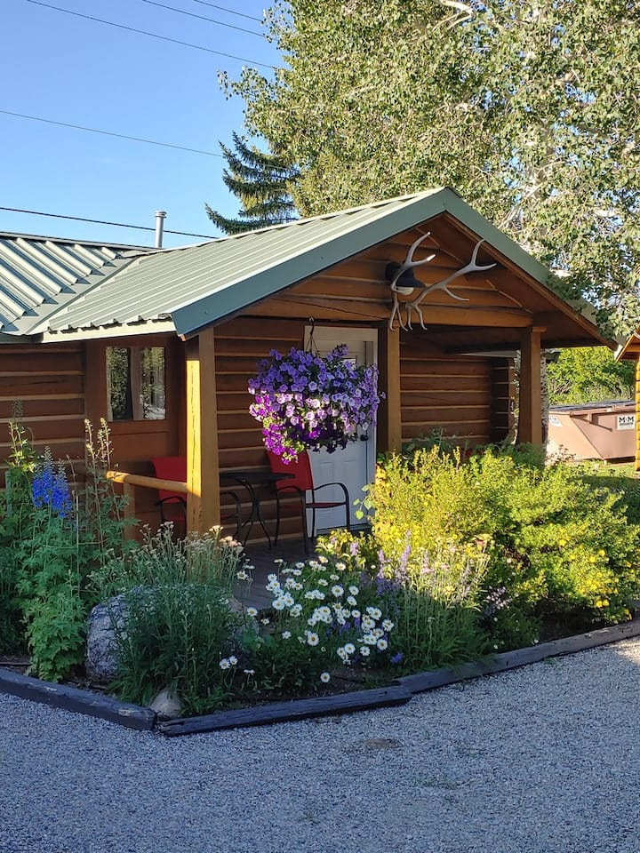 Historic Trapper Cabin - THE PERFECT SAFE  and COZY Cabin  in downtown Pinedale
