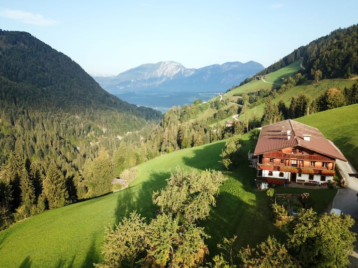 Charming apartment Hundsegghof with breathtaking views