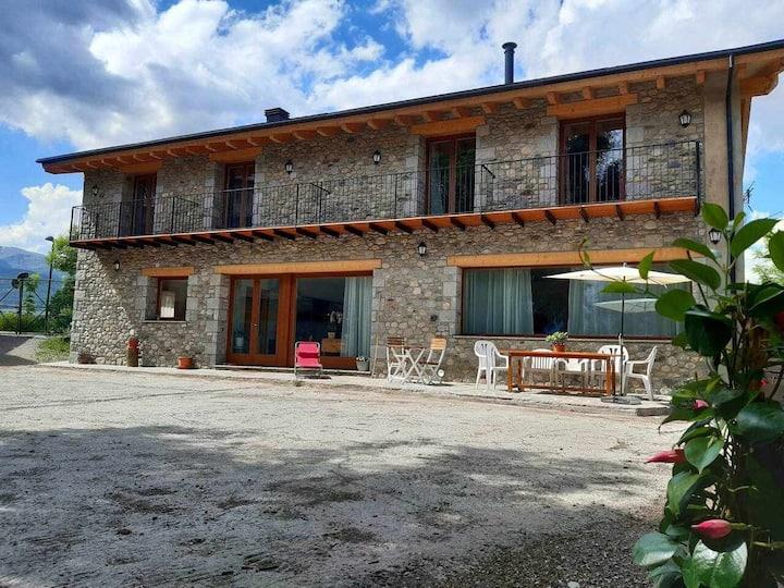 Habitación doble con desayuno Casa de Pagès Mas Po