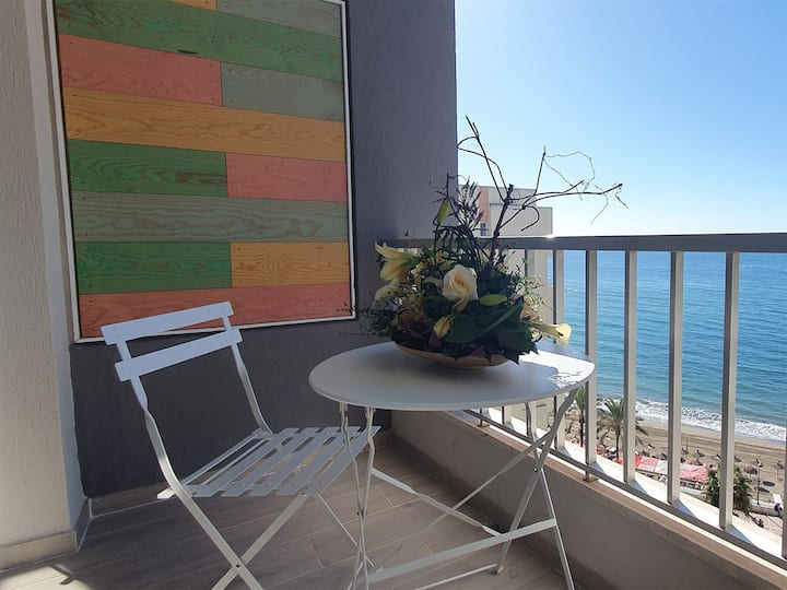 Great studio on the Beachfront in the Center of Marbella
