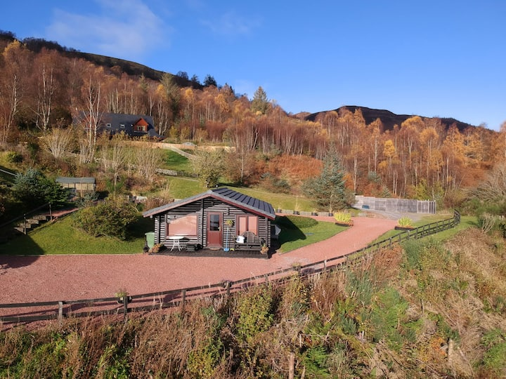 Highand Lodges for 4 persons.