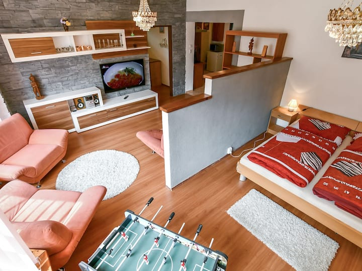 Apartments V+K for 4 persons.