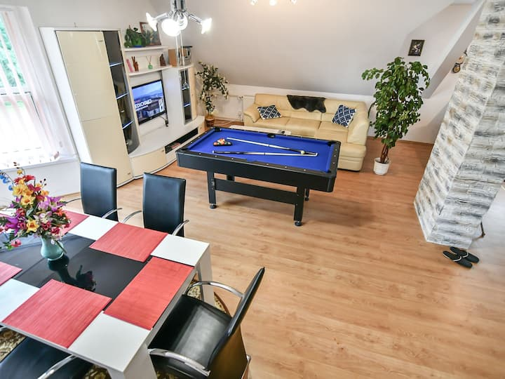 Apartments V+K for 6 persons.