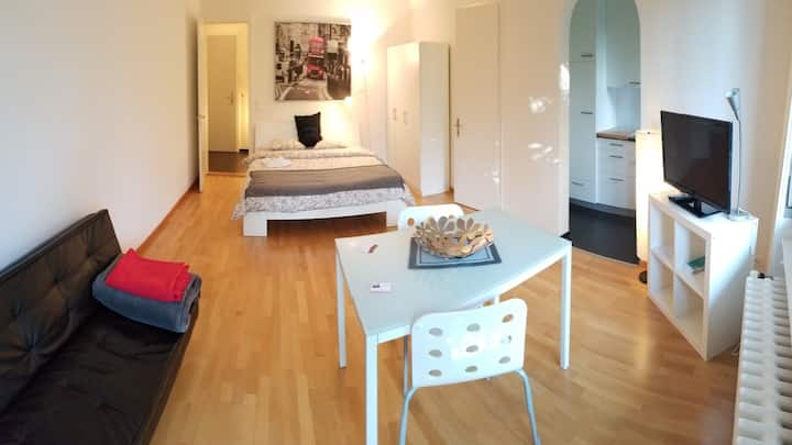 3007MO92 Monbijou · Nice Apartment with Balcony in Bern City-Monbijou