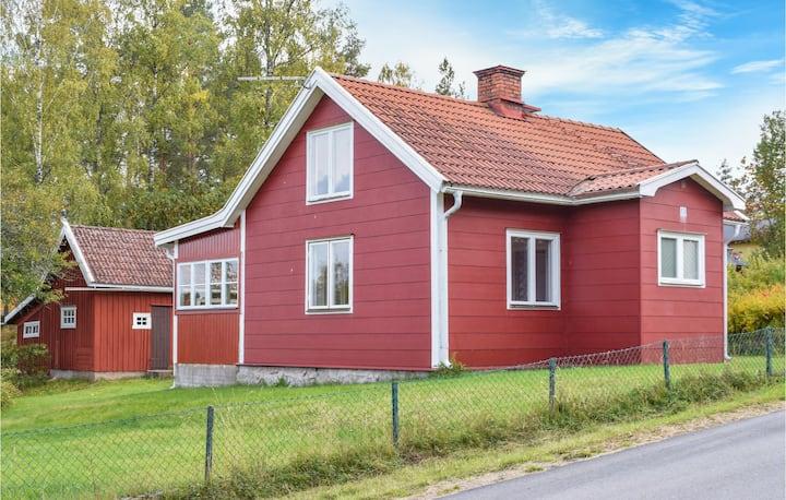 Beautiful home in Lönneberga with 1 Bedrooms