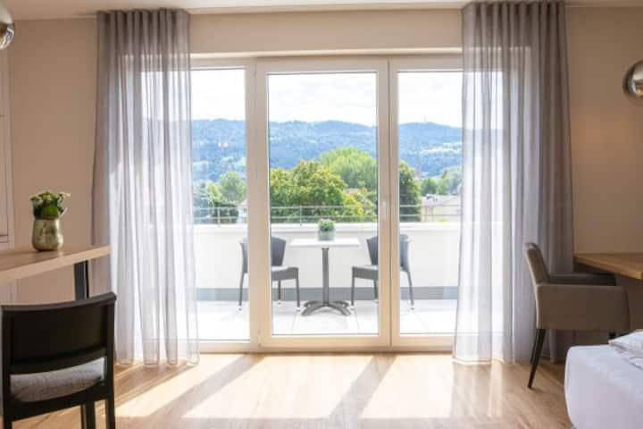 bodenseezeit Apartmenthotel Garni, (Lindau am Bodensee), Panorama Suite