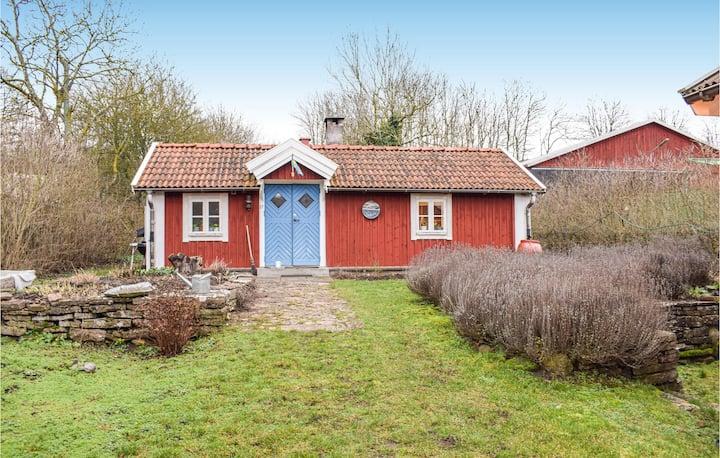 Nice home in Färjestaden with WiFi and 1 Bedrooms