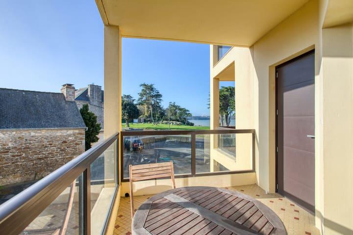 Appartement de 2 chambres à Saint-Jacut-de-la-Mer, avec terrasse et WiFi