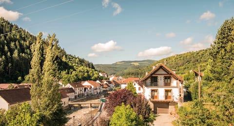Acogedora casa rural a los pies de la Selva de Irati.