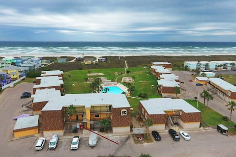 SHORELY BLESSED *View of Pool and Courtyard *Beachfront