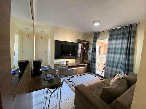 CLUB303 Apartamento confortável de 3 quartos e bom custo benefício - Setor Goiânia 2