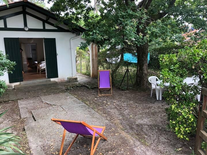 Cercle de voile Pyla sur Mer - Petite maison avec jardin