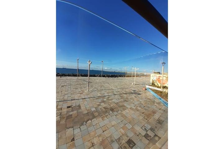 Tabajara Flat - Ap 605 - Sea side view