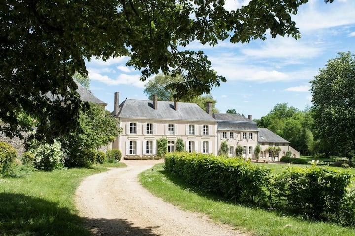 Manoir Les Deux Fonds at Pays de la Loire