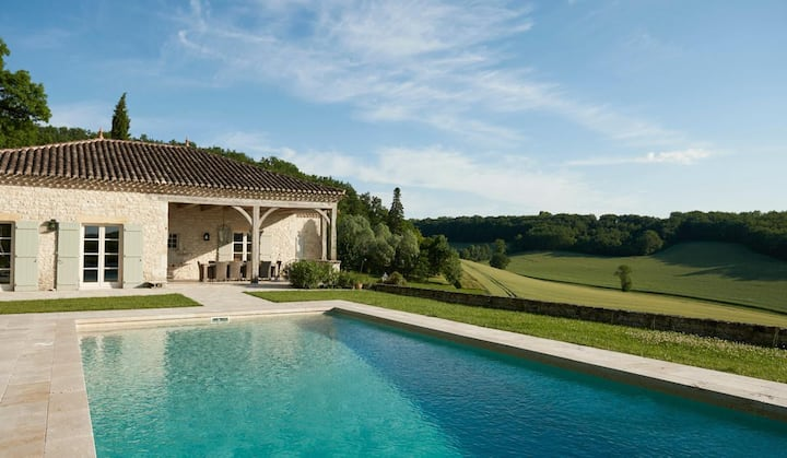 Fabulous Tuscan Style Home with Pool