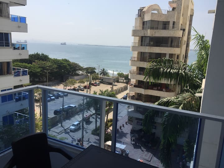 Apartment in Cartagena in front of the sea 1C6
