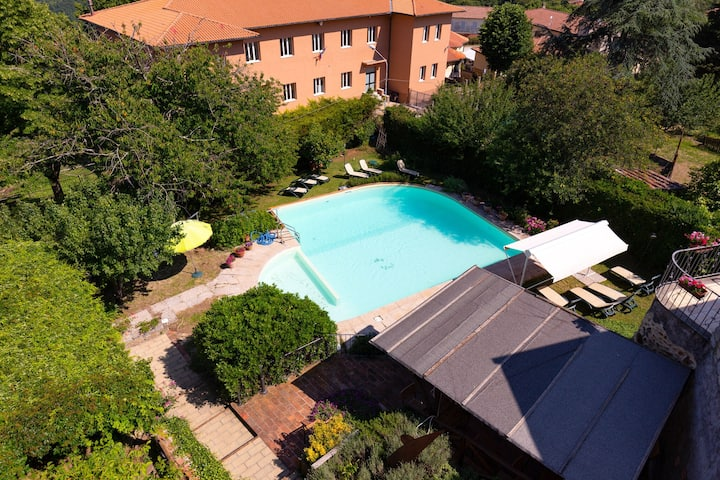 Cutesy Apartment in Boccheggiano with Swimming Pool