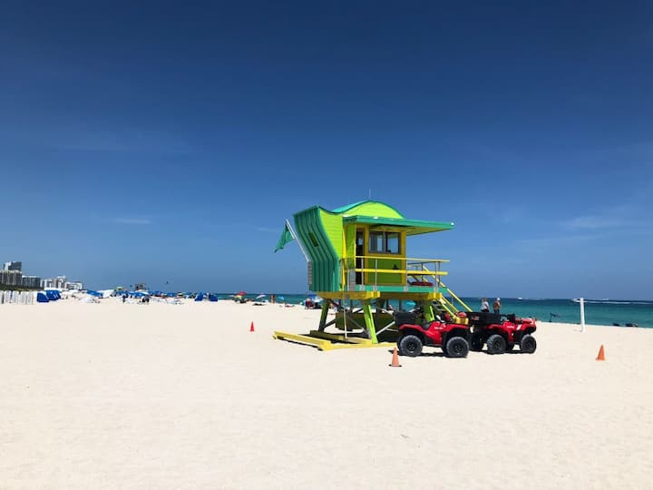 OCEAN DRIVE STAY! 2 COMFY UNITS FOR 8!