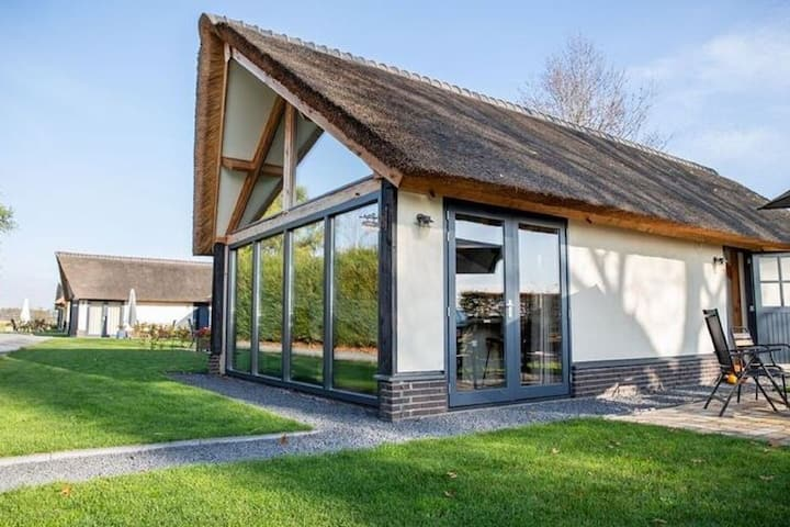Classy Holiday Home in Alphen with Garden and Stables