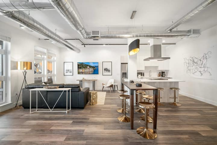 RiNo Art Lofts | Urban Cowboy Loft | Skyline Views!