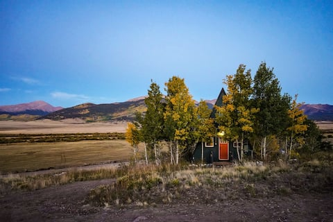 A-Frame Cabin with Panoramic Views
