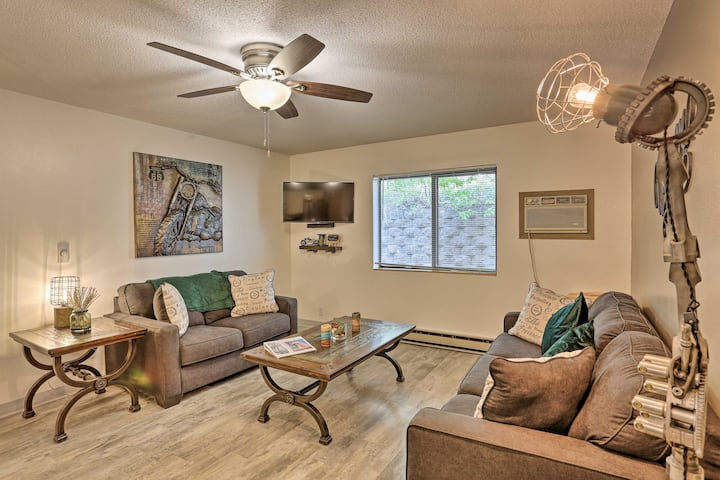 Stylish, Updated Black Hills Condo w/Patio in Lead