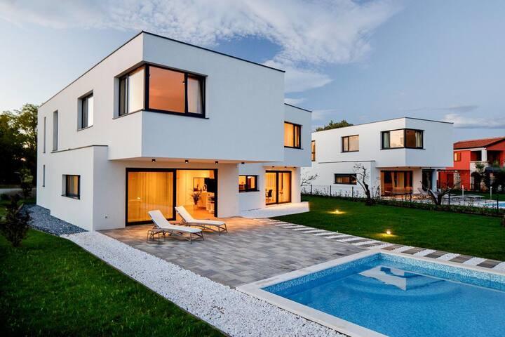 Villa Pila at Istarska županija