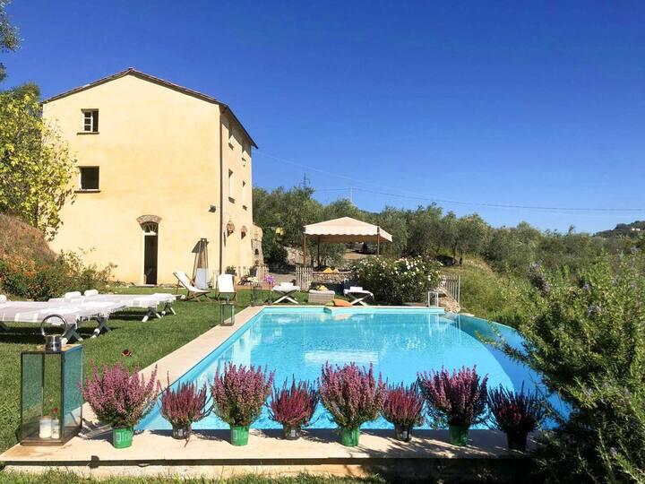 Villa Melinda at Liguria