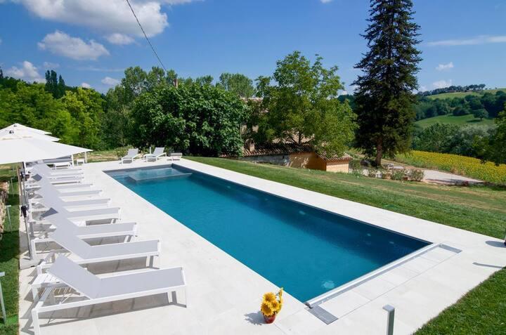 Villa Rossana at Marche