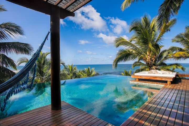 Bah153 - Beach house with amazing view in Itacaré