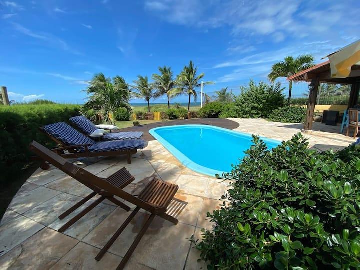 Casa tropical breeze beira mar de Graçandu por Carpediem