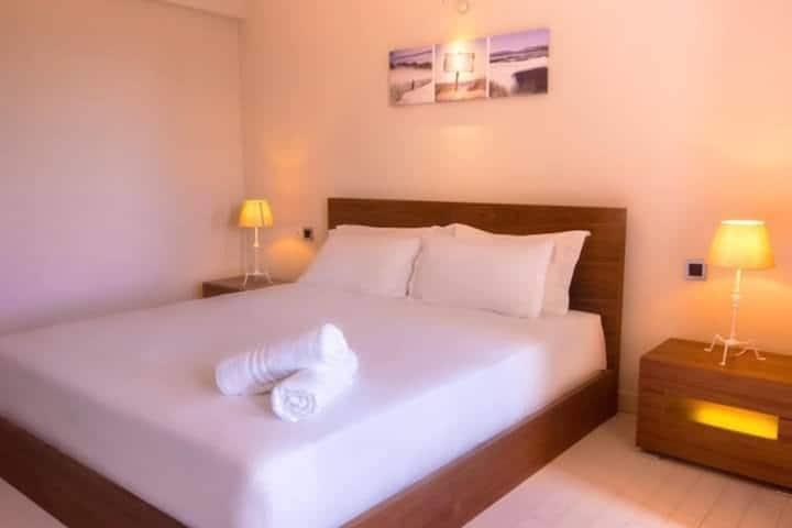 Cosy Double Bedroom ★★★ - Azure Beach Boutique Hotel