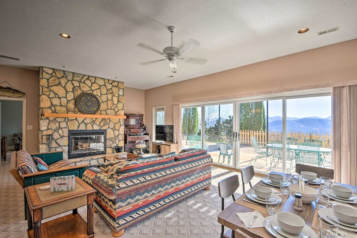 NEW! Sky-High Haven Over Lake Chatuge w/ Billiards