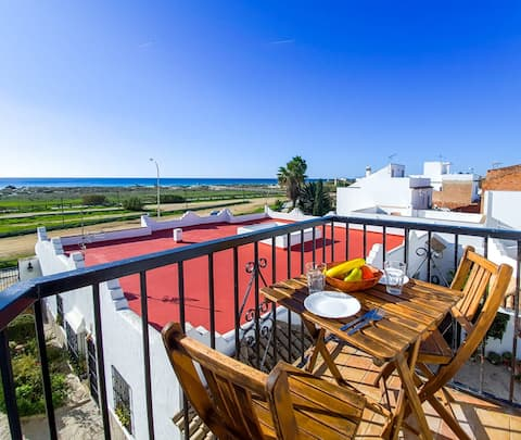 Apartamento en primera linea de Playa   Zahara de los Atunes