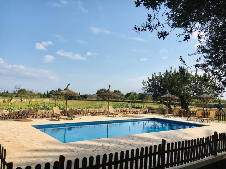 Vacation Home Gregal with Mountain View, Wi-Fi, A/C, Pool, Garden & Terrace; Parking Available